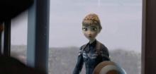 โอ๊ะโอ! เมื่อตัวละครจาก Frozen หลุดมาอยู่ใน Captain America จะเป็นไง?