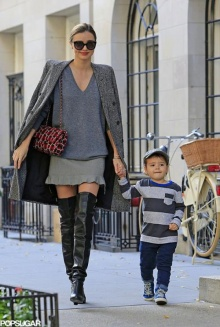 โมเมนท์น่ารัก ของ มิแรนดา เคอร์ กับลูกชายตัวน้อย!