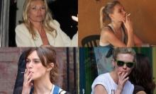 OMG! ไม่น่าเชื่อนี่คือ 20 ซุปตาร์สาวที่สูบบุหรี่!