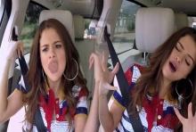 มาดูคลิปรั่วๆของ Selena Gomez จาก Carpool Karaoke กันเถอะ