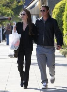 Jolie and Brad @ LA