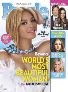 บียอนเซ ผู้หญิงสวยที่สุดในโลก ประจำปี 2012