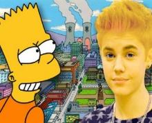 สาวๆกรี๊ด จัสติน บีเบอร์ จะได้เป็นตัวละครในการ์ตูน The Simpsons