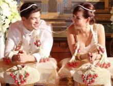 'ลูกตาล'ชโลมจิตร เข้าพิธีสมรสแบบไทยกับ อดัม นายแบบฮังการี สุดชื่นมื่น