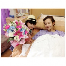 อันดา ให้กำลังใจ พี่เบลล่า หลังจากทราบข่าวบาดเจ็บจากอุบัติเหตุ