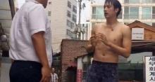 สื่อเกาหลีฉุน! ฟิล์ม รัฐภูมิ จัดฉากโดนจับเล่น Ice Bucket
