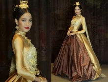 แก้แล้ว ชุดประจำชาติ ที่เมญ่าใช้ประกวด Miss World 2014