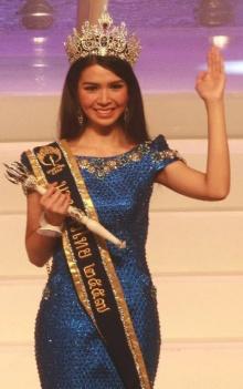 'น้องอี้'ลูกแม่โดมคว้ามงกุฎนางสาวไทยปี 2557
