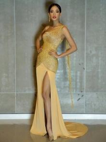 ผยโฉม! ชุดเจ้าหญิงทองคำ เมญ่า ใส่ประกวดรอบตัดสินมิสเวิลด์ 2014 คืนนี้!!!