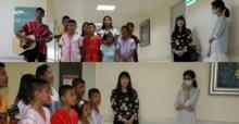 ดราม่าจนได้!!เมื่อเด็กๆจากมูลนิธิฯมาร้องเพลงให้ปอ ในรพ.