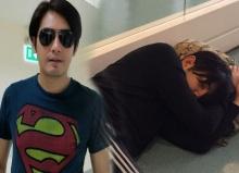 แชร์กระจาย!ภาพ หนุ่ม ศรราม กอดกระเป๋านอนกลางพื้นสนามบิน!