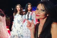 เจด้า ลุคอินเตอร์สุดปังในElle Fashion Week