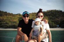 ครอบครัวสุขสันต์ แอน-ภูริ และลูกสาวตัวน้อย น้องริชา ความน่ารักระดับสิบ