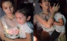 เอ็นดูความไร้เดียงสาของ น้องมะลิ ที่ร้องไห้หนักมากในวันเกิดของแม่ด้วยสาเหตุนี้...(คลิป)