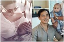 'แซนวิช' อุ้มลูกชาย 'น้องลีออง' เที่ยวเขาใหญ่ ประชันหล่อ สงกรานต์