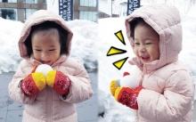 """เห็นน้ำแข็งเป็นไม่ได้!! """"น้องปริม"""" กับความหนาวเย็นที่เด็กๆชื่นชอบเป็นพิเศษ"""