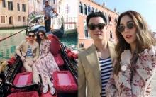 """ส่องโมเมนต์หวานๆ """"ชมพู่-น็อต"""" ในลุคสบาย ณ เมืองเวนิส ก่อนเตรียมเฉิดฉายบนพรมแดง"""