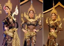 ยลโฉมชุดประจำชาติไทยสู้ศึกเวทีมิสยูนิเวิร์ส