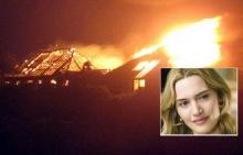 ฟ้าผ่าบ้านไฟลุก นางเอกเคต วินสเล็ตพาลูกหนี