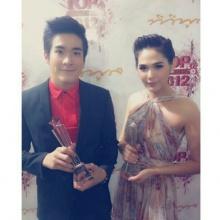 แอน-ณเดชน์-ชมพู่ คว้า TOP AWARDS 2012