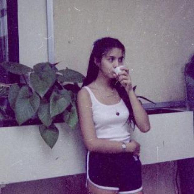 คริสติน่า อากีล่า อวดภาพในอดีต ตอนนั้น อายุ 14 ปี สวยน่ารักมาก