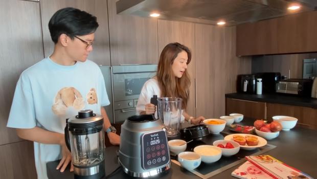 สามีดีเด่น ไฮโซเซนต์ เข้าครัว ทำอาหารบำรุง ภรรยาตั้งท้อง