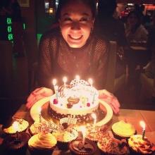 บรรยากาศเอมมี่ กลิ่นประทุมฉลองวันเกิด 31 ปี
