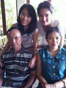 เจมส์-จิรายุ ในวันสบายๆกับครอบครัว