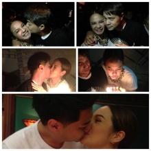 เพื่อนๆกรี๊ดกร๊าด! กีต้าร์ ศิริพิชญ์ โชว์ จูบ สุดดูดดื่ม  คุณสามี!กลางปาร์ตี้วันเกิด