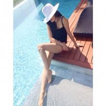 ริต้า อวดหุ่นสวยเป๊ะ!ในชุดว่ายน้ำ ที่ ทะเลชะอำ!