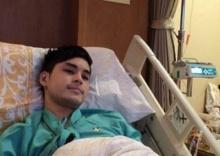 เก้า จิรายุทรุด !โหมงานหนัก ถูกหามส่งโรงพยาบาล