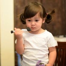 น้องเนซซี่ ลูกแม่แหม่ม วัย2ขวบ นับวันยิ่งน่ารัก