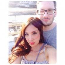 เปิ้ล ไอริณ เจอเมาท์ภาพสวีตแฟนฝรั่งเหมือนภาพตัดต่อ!