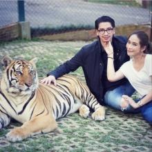 เดทสุดแนว ของ พลอย -จอห์น เที่ยว กรงเสือ