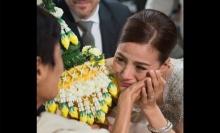 สุดซึ้ง!! คุณแม่ร่วมยินดีงานแต่ง น้ำฝน&จอร์ดอน ทั้งที่ยังป่วย