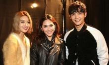 น่ารักไปอี๊ก!!เมื่อสาวชมพู่ ถ่ายรูปร่วมเฟรม มินโฮ-ซูยอง!!!