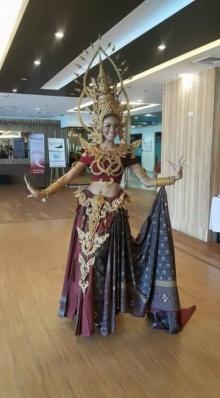 เปิดตัวซะแล้ว ! ชุดประจำชาติ ศศิ สินทวี สู้ศึก Miss International ที่ประเทศญี่ปุ่น