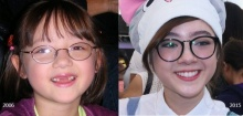 ย้อนวัย 'ฟันน้ำนม'ของ สาวเสียงใส  'พลอยชมพู' เธอสวยขึ้นมากๆ