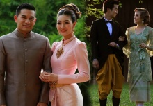 หาชมยาก!!เหล่าดาราดังควงคู่ถ่ายภาพชุดไทย 9 รัชกาล ช่างงดงามยิ่งนัก