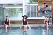'เป้ย – หนิง' ประชันชุดว่ายน้ำ งานนี้ 'กระแต' ไม่สู้ แต่โชว์หวานกับสามี