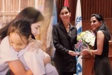 ปู-ไปรยา ซึ้ง รับตำแหน่งทูตสันถวไมตรี UNHCR