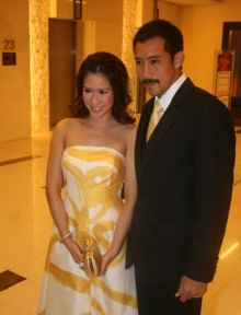 วันแต่งงานป๊อกเผยตั๊กจัดงานแบบไทย