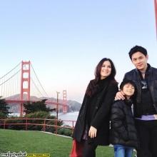 อชิแฮปปี้เที่ยวกับครอบครัวโบ-แบงค์-ฟลุค-นาตาลีกลมเกลียว