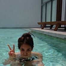 หาดูยากส์ -มิน พีชญา หวิว ในสระว่ายน้ำ!!