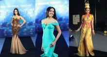 เปิดตัวชุดราตรีและชุดประจำชาติ Miss Universe Thailand 2013