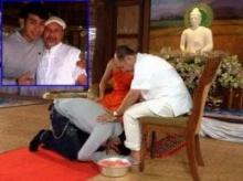 ′ไกรสร′หลั่งน้ำตา′น้องเพชร′ล้างเท้าขอขมา