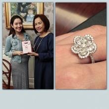 แหวนเพชร ของขวัญจาก แม่สงกรานต์ ให้ลูกสะใภ้แอฟ!