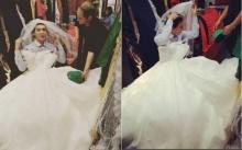 'นาธาน'อวดชุดแต่งงาน สวยเป๊ะอลังการดาวล้านดวง!