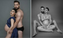 แซบสุดๆ 'ส้ม – ณัชพร' อุ้มท้อง 7 เดือนถ่ายแบบเซ็กซี่กับสามีต่างชาติ