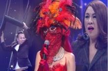 สาวหน้ากากแดงออกเวที ร้องเพลงโคตรดี แต่ตอบคำถามไม่รู้เรื่อง!! เปิดหน้าออกมาทำเอาช็อก